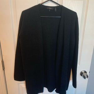 NWOT Theory wool/angora blend open sweater
